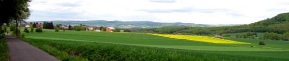 Kopfbild Mai 2012: Kleinbahnradweg Grifte Gudensberg