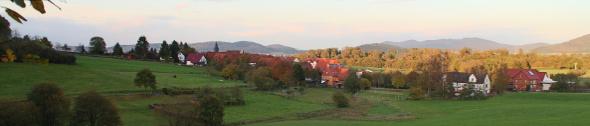 Kopfbild Herbstabend bei Leckringhausen